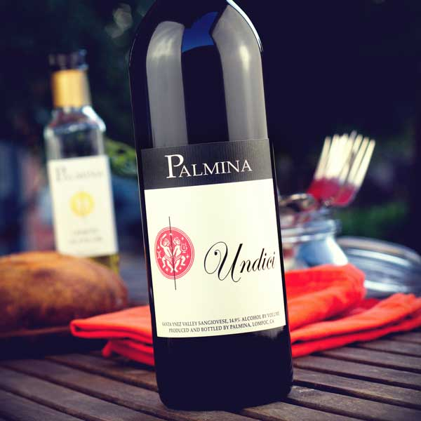 Red Wines at Palmina Wines